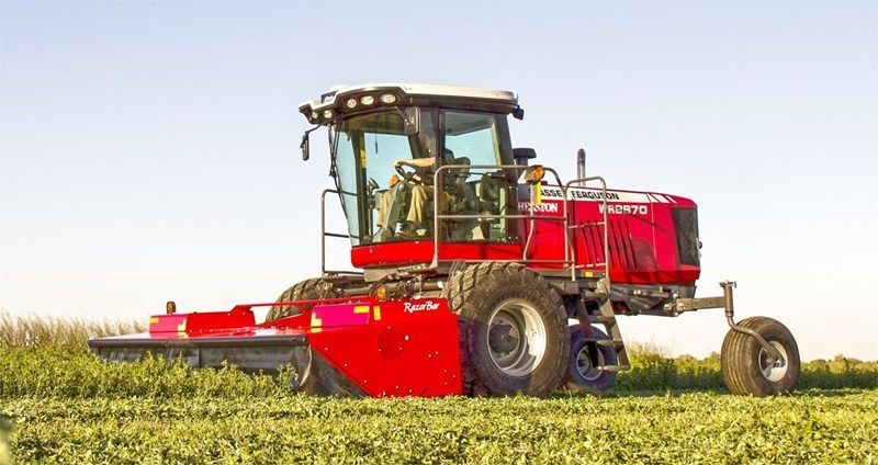 2016 Massey Ferguson WR9870 Mower Conditioner For Sale
