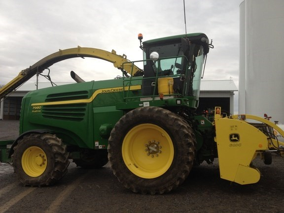 2013 John Deere 7980 Forage Harvester-Self Propelled For Sale