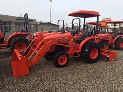 """Tractor For Sale 2021 Kubota L3901HST - 66"""" Bucket , 39 HP"""