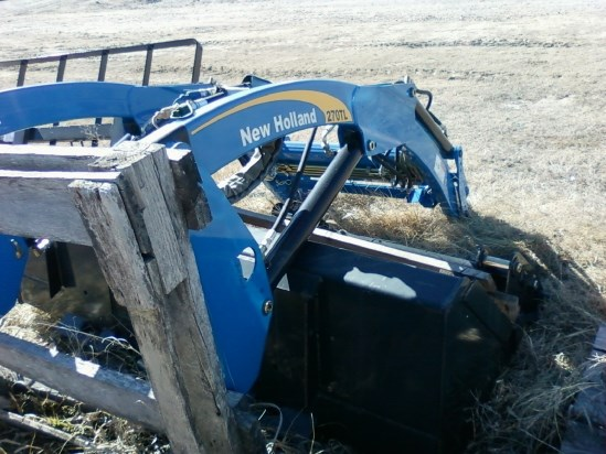 2010 New Holland 270TL Front End Loader Attachment For Sale