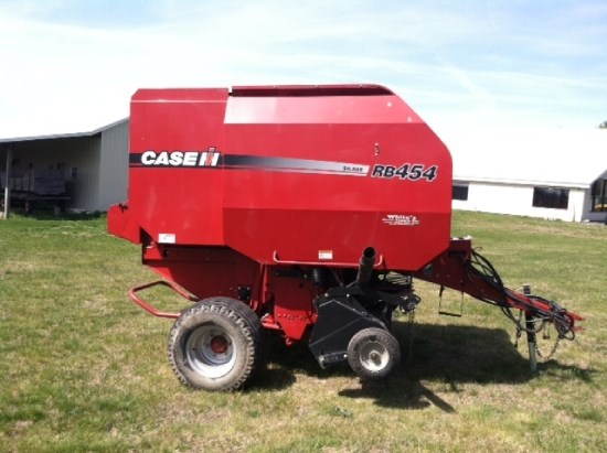 Case IH RB454 Baler-Round For Sale