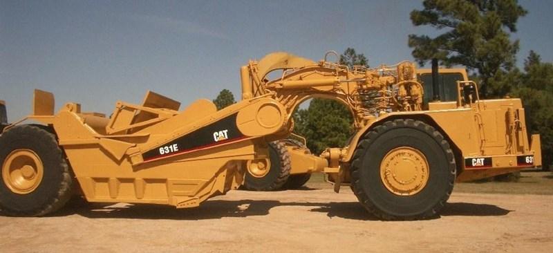 1990 Caterpillar 631E Image 7