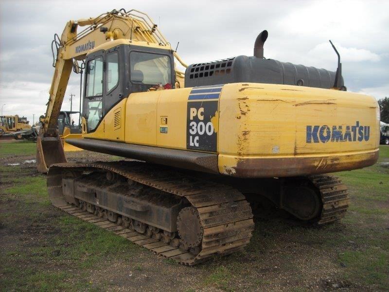 2006 Komatsu PC300 LC Image 4