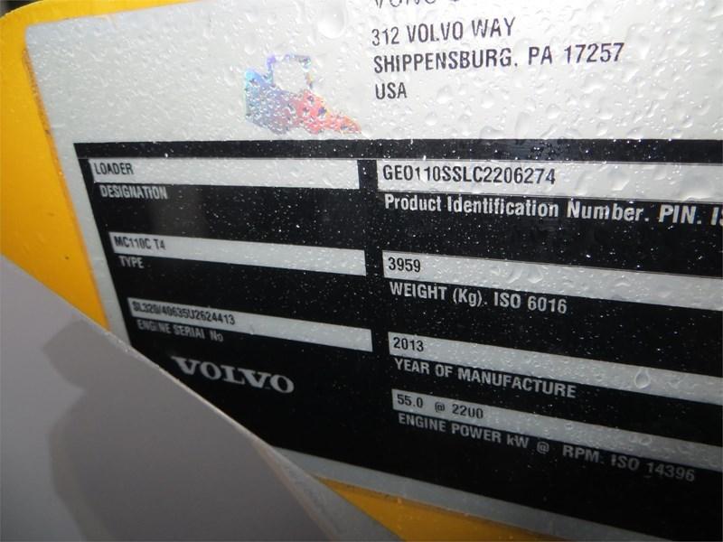 2013 Volvo MC110C Image 18