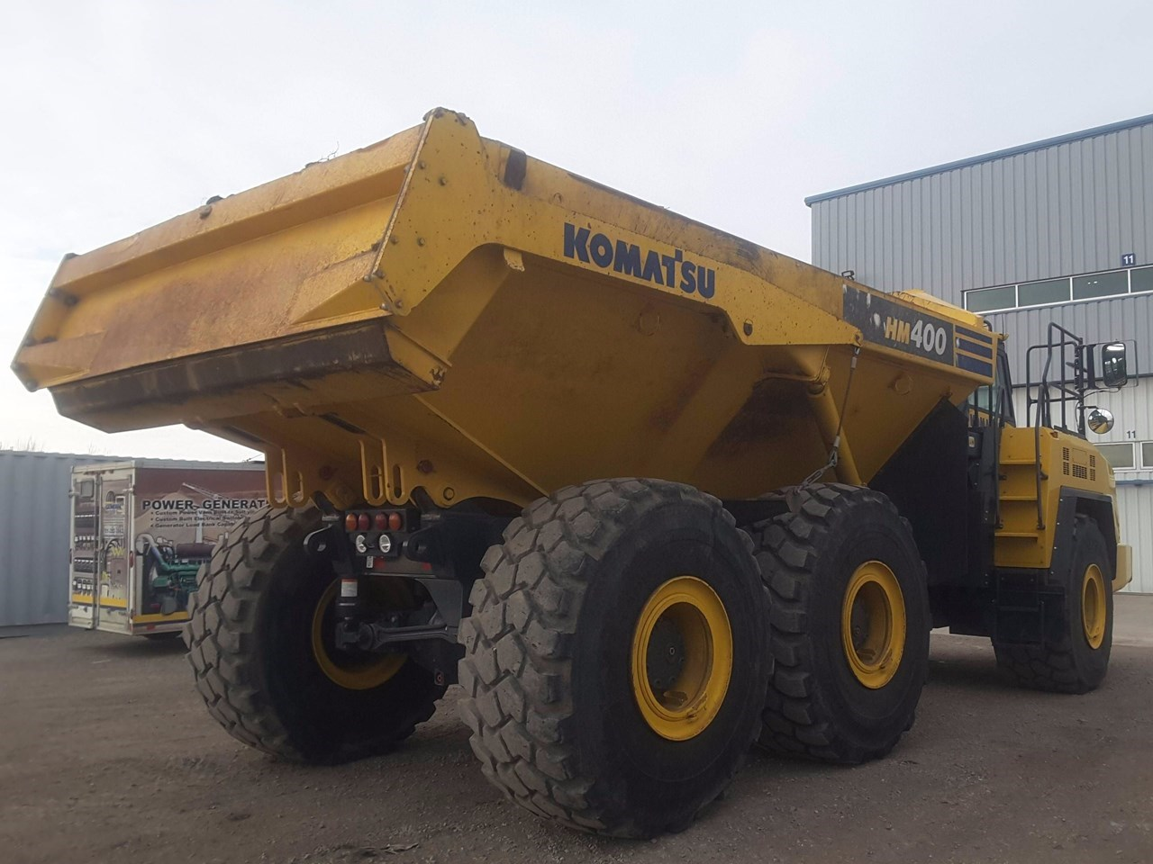 2015 Komatsu HM400-5 Image 3