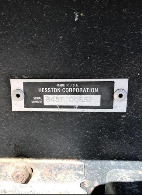 1999 Hesston 8450 Image 9