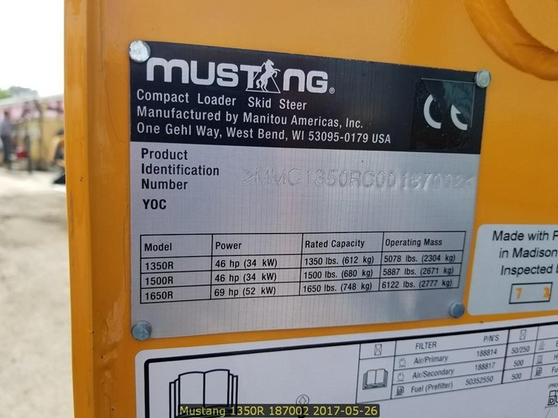 2014 Mustang 1350R Image 11