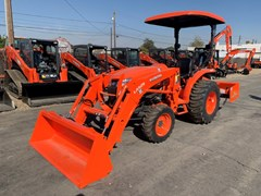 """Tractor For Sale 2021 Kubota L3301HST - 66"""" Bucket , 33 HP"""