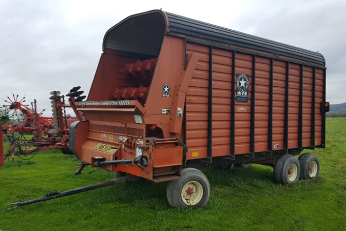 Meyer 4616 Forage Box For Sale
