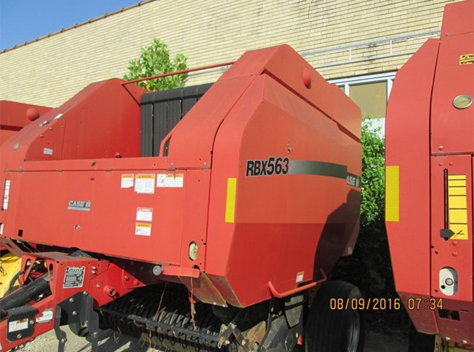 Case IH RBX563 Baler-Round For Sale