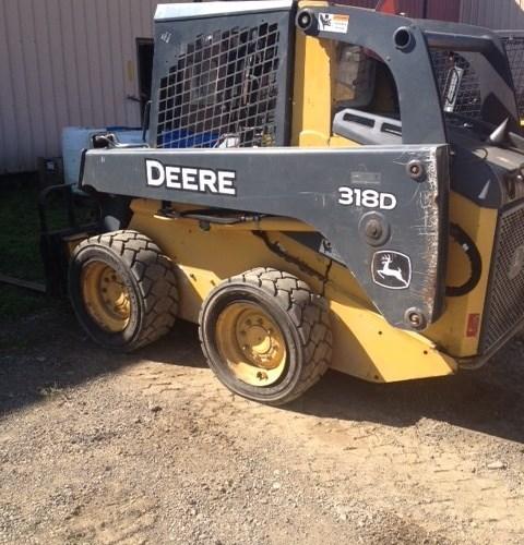 2012 John Deere 320D Skid Steer For Sale