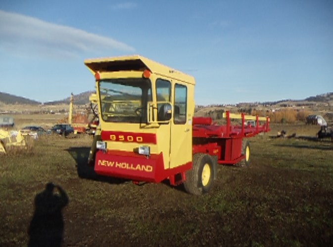 1981 New Holland 8500 Bale Wagon-Self Propelled For Sale
