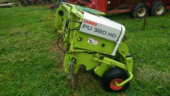 2010 Claas PU-380 Forage Head-Windrow Pickup For Sale