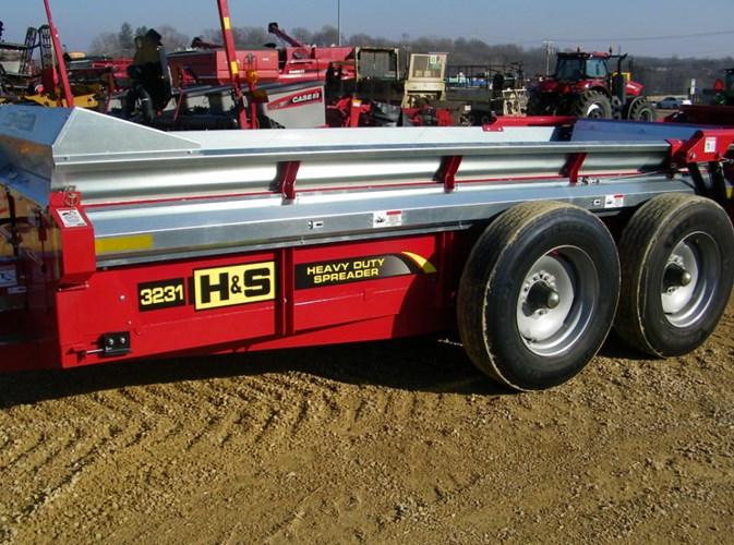 2020 H & S 3131 Manure Spreader-Dry For Sale