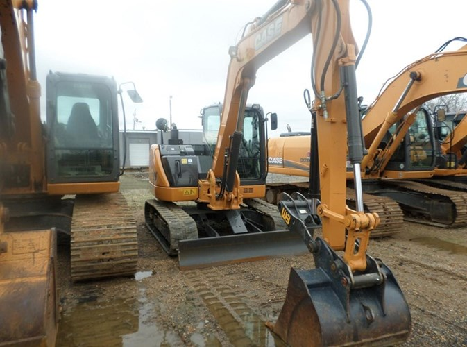 2016 Case CX80C Excavator-Track For Sale