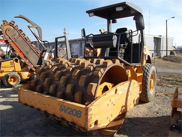 2007 Case SV208 Compactor-Soil For Sale