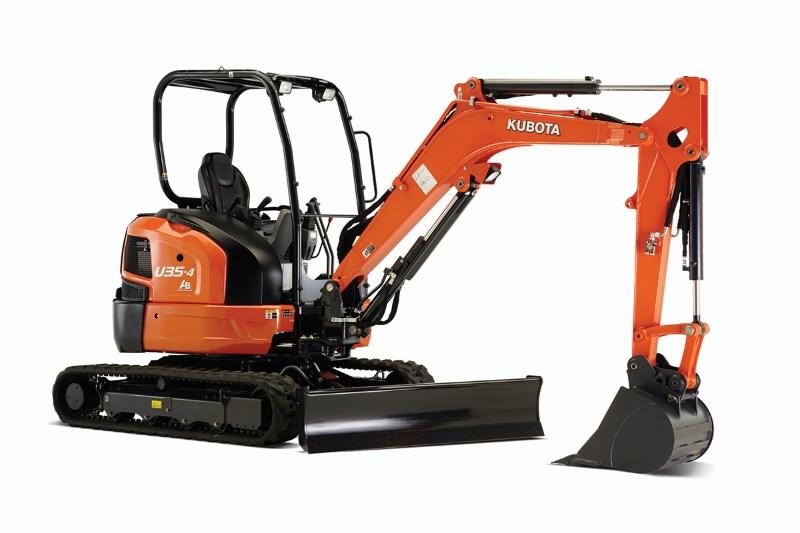 2021 Kubota U354R1A Excavator-Mini For Sale