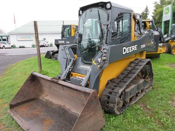 2015 John Deere 319E Skid Steer-Track For Sale