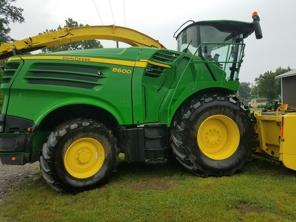 2016 John Deere 8600 Forage Harvester-Self Propelled For Sale