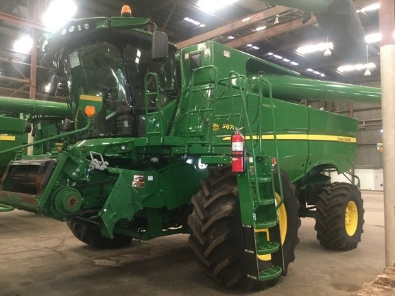 2014 John Deere S670 Combine For Sale