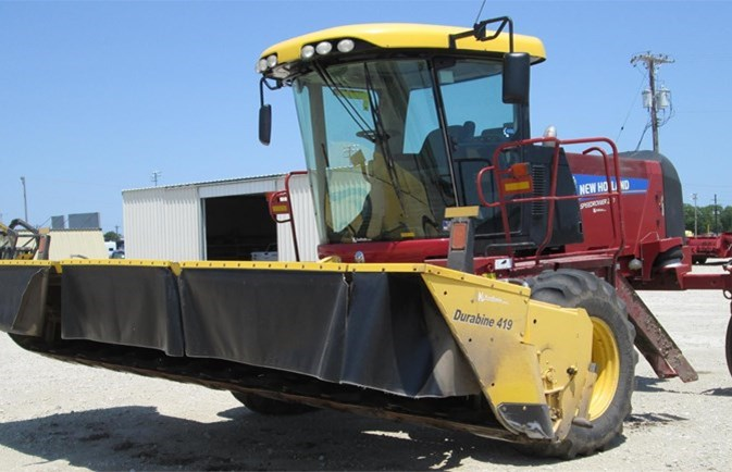 2014 New Holland SPEEDROWER 240 Windrower-Self Propelled For Sale