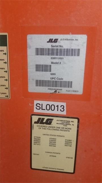 2006 JLG 600S Image 4
