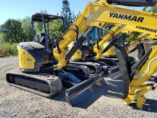 2017 Yanmar VIO45-6A Excavator-Mini For Sale