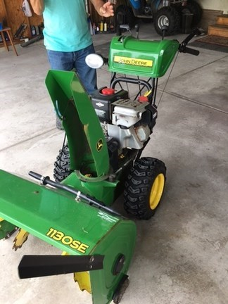 2008 John Deere 1130 Snow Blower For Sale