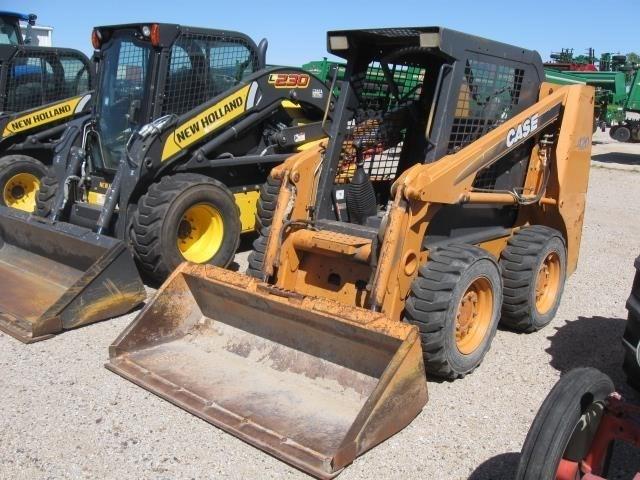 2005 Case 420 Skid Steer For Sale