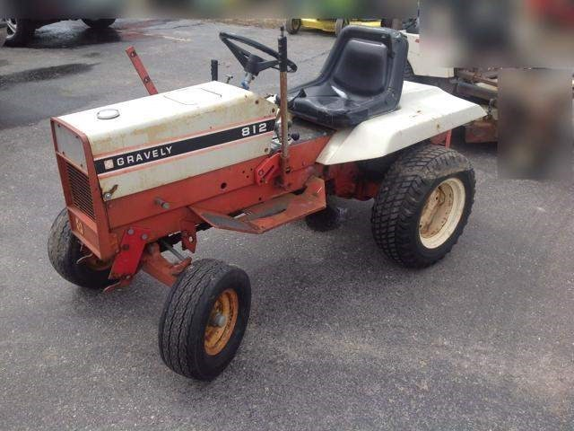 1981 Gravely 812 Riding Mower For Sale
