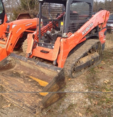 2013 Kubota SVL75-2 Skid Steer-Track For Sale