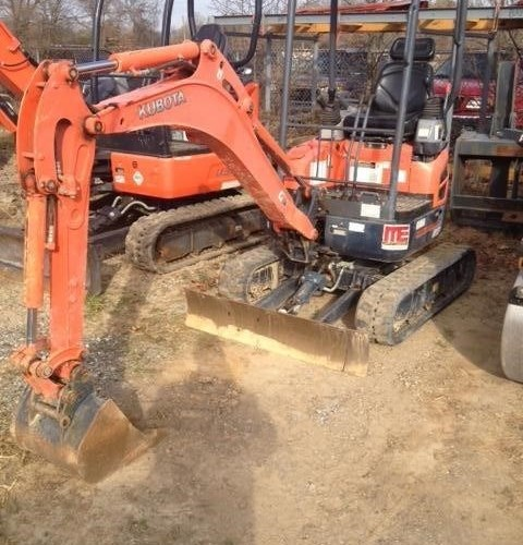 2012 Kubota U17 Excavator-Mini For Sale