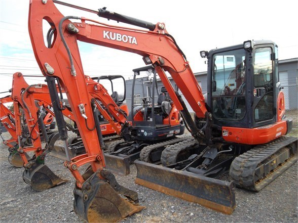 2013 Kubota KX057-4 Excavator-Track For Sale