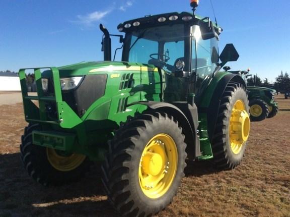 2016 John Deere 6155R Tractor - Row Crop For Sale
