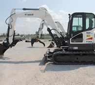 2012 Bobcat E80 Thumbnail 1
