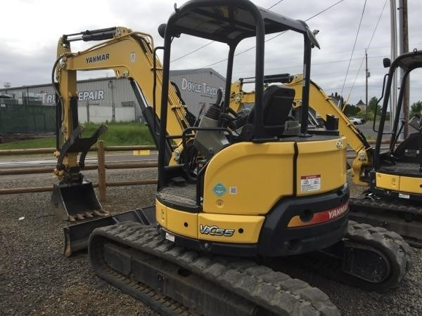 2015 Yanmar VIO55-6A Excavator-Mini For Sale
