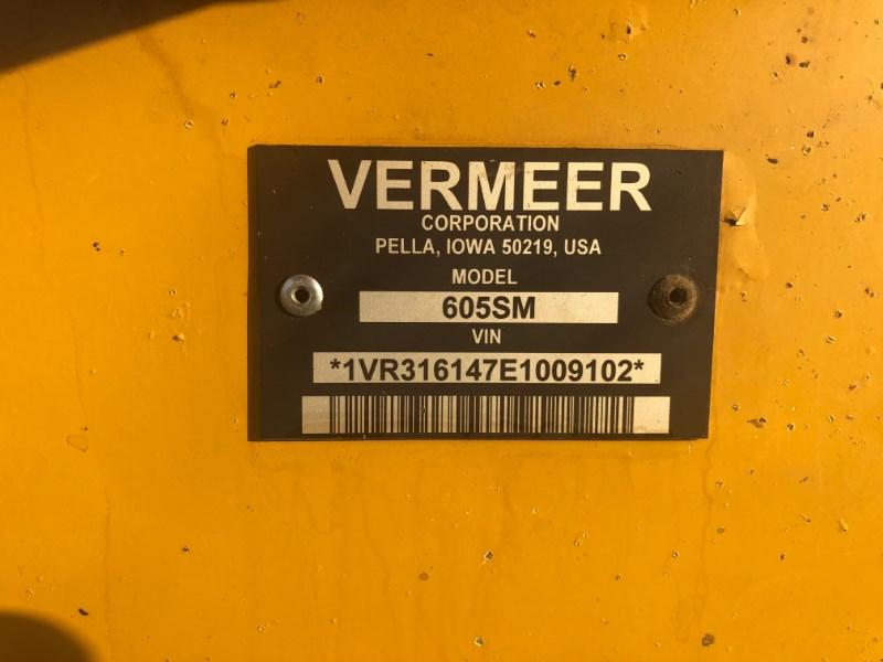 2014 Vermeer 605SM Image 5