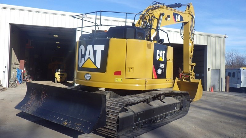 2017 Caterpillar 335F LCR Image 3