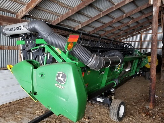 2011 John Deere 625F Combine Header-Auger/Flex For Sale