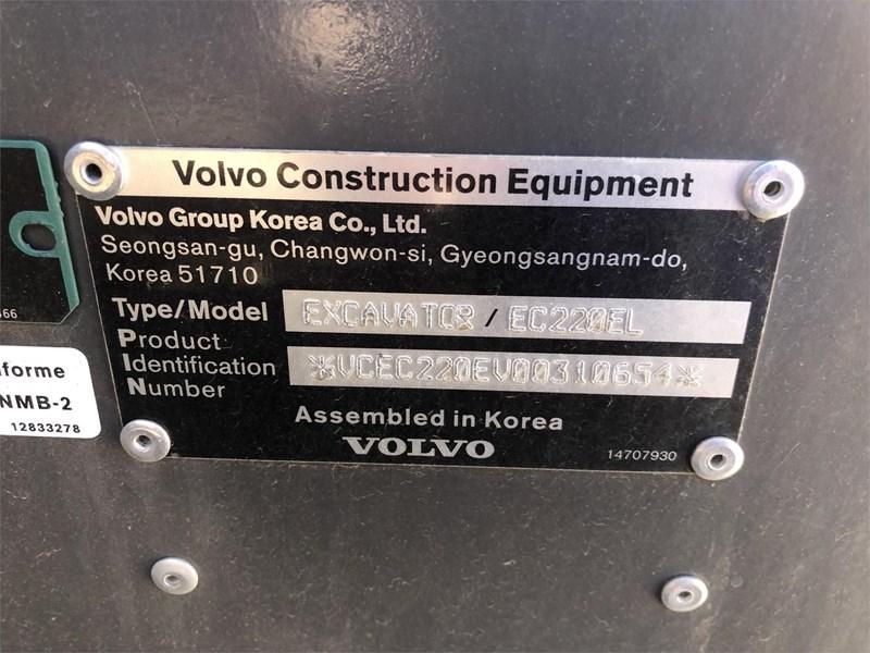 2018 Volvo EC220EL Image 7