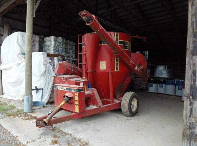 Gehl 170 Grinder Mixer For Sale