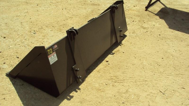 "Other New 72"" heavy duty bucket for John Deere 300 - 500 Image 3"