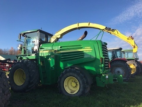 2009 John Deere 7750 Forage Harvester-Self Propelled For Sale