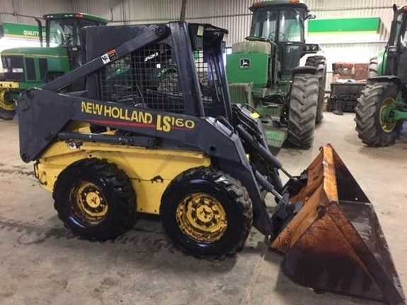 2001 New Holland LS160 Skid Steer For Sale