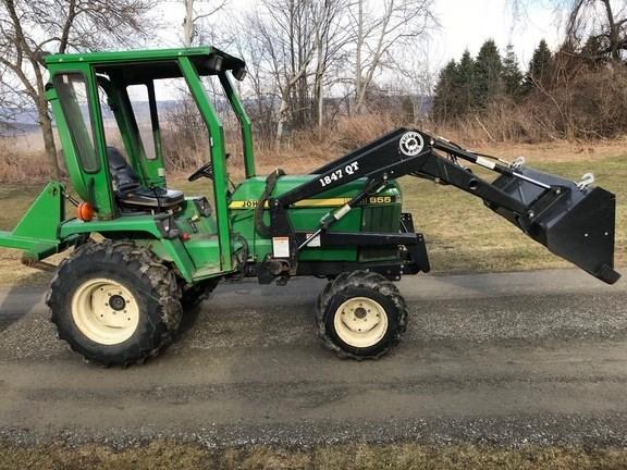 1998 John Deere 855 Tractor For Sale