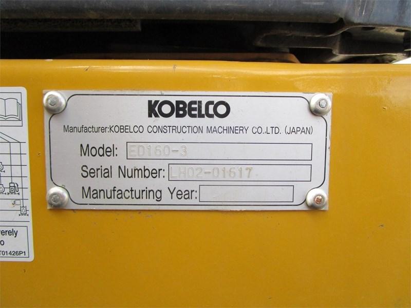 2016 Kobelco ED160-3 BLADERUNNER Image 55
