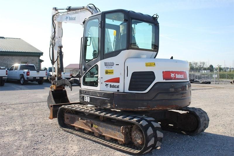 2012 Bobcat E80 Image 6