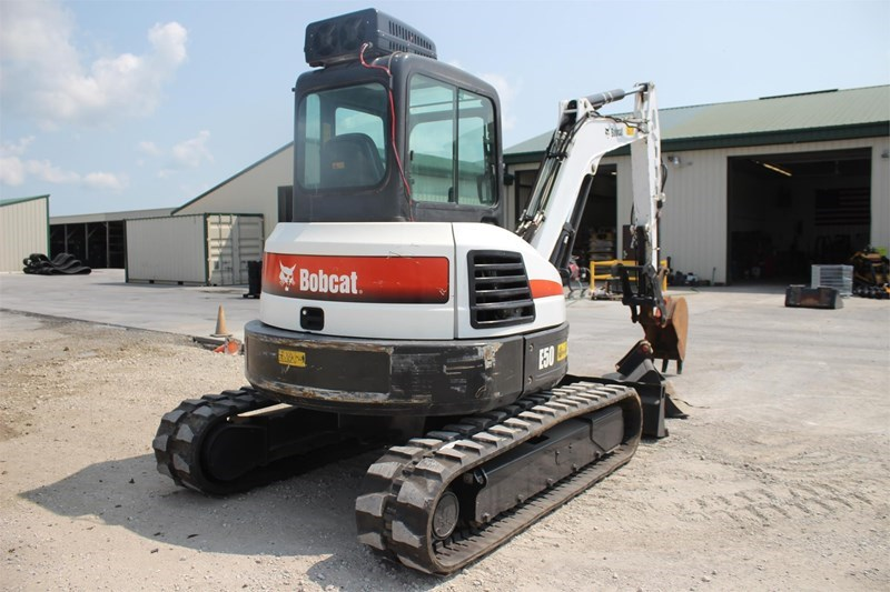 2014 Bobcat E50 Image 9