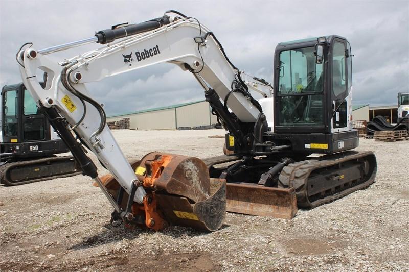 2011 Bobcat E80 Image 2