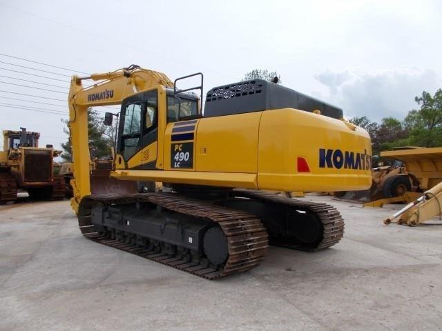 2014 Komatsu PC490 LC-10 Image 4